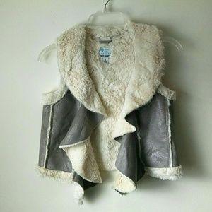 Girls Shearling Vest